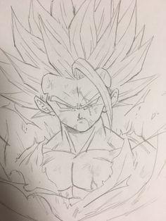Dbz Drawings, Cool Drawings, Fotos Do Pokemon, Vegito Y Gogeta, Dragon Art, Ball Drawing, Fan Art, Anime Character Drawing, Naruto Art