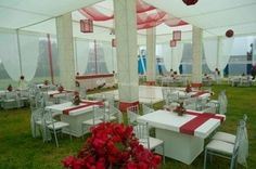 Toldo arquitectonico para boda de Mega Eventos Juan Manuel
