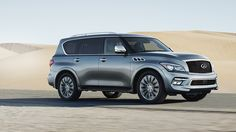 2015 INFINITI QX80 Limited Is RedCarpet Glamour with