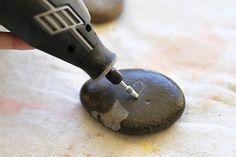 credit: Ashley Hackshaw [http://www.lilblueboo.com/2012/09/carving-rocks-with-a-dremel.html]