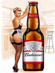 Budweiser Pin Up Girl, Vintage Retro Metal Sign Plaque, Novelty Gift, Bar/Pub Vintage Advertisements, Vintage Ads, Vintage Posters, Pin Up Girl Vintage, Retro Pin Up, Retro Style, Up Imagenes, Mode Pin Up, Pin Up Pictures