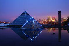 Muttart Conservatory, Edmonton, Alberta, Canada. #GILOVEALBERTA      http://www.edmonton.ca/attractions_recreation/attractions/muttart-conservatory.aspx