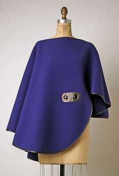 Pierre Cardin | Poncho | French | The Met
