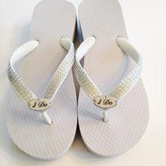 4e650530f770c8 RHINESTONE Bridal Flip Flops.Wedding Flip Flops Wedges.Beach Bling Flip  Flops