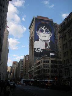 Barnabas Collins / Johnny Depp Dark Shadows 2012 Billboard 23rd St NYC 2261 by Brechtbug, via Flickr