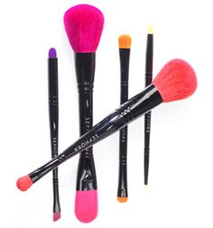 Poly-chromatic brushes with two-in one uses created for Sephora  http://www.taikiusabeauty.com/beauty-tools/make-up-brushes/