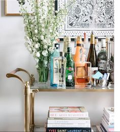 Image result for drinks trolley spirits