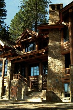 McCaffrey Lake Cabin - Lake Point, Shaver lake, California - RMT Architects