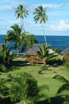 Bed and breakfast Punatea Vollage in Afaahiti in Tahiti has 9 comfortable guest rooms - www.bedandbreakfast.eu