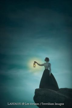 Every evening she would stand on the cliff's edge and look out to sea scanning the ocean for a sign of his ship