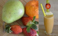 Skvělý je i zázvor. Pear, Smoothies, Mango, Fruit, Drinks, Food, Smoothie, Manga, Drinking