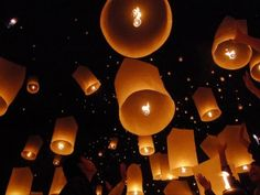 How to better illuminate the sky than with Chinese Lanterns...:)
