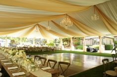 wedding tent decorations ceiling - Google Search