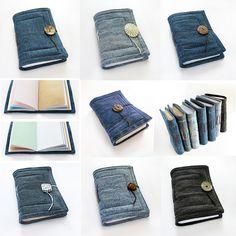 7 jeans journals, via Flickr.