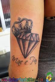 Queen of Diamonds Diamond Tattoos, Amazing Art, Tatting, Body Art, Piercings, Tattoo Designs, Ink, Clothes For Women, Tatoos