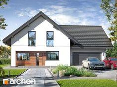 Projekt domu Dom w rabatkach - ARCHON+