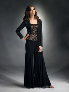 Pants Suits Mother Dreses Women Tail Eveningwear For