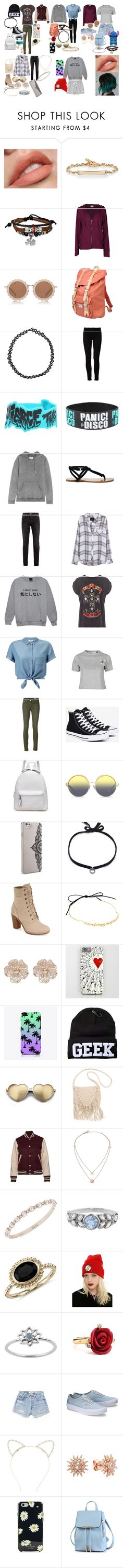"""""""Tyler's Wardrobe"""" by majesticnarwhal on Polyvore featuring Hoorsenbuhs, Bling Jewelry, Velvet by Graham & Spencer, House of Holland, Herschel Supply Co., Boohoo, Frame Denim, Zoe Karssen, Sole Society and Topman"""