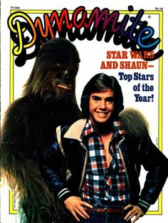 Shaun Cassidy and Chewbacca