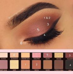 Eye Makeup Tips – How To Apply Eyeliner – Makeup Design Ideas Glam Makeup, Skin Makeup, Makeup Inspo, Mime Makeup, Soft Eye Makeup, Doll Makeup, Brown Makeup, Eyebrow Makeup, Makeup Ideas