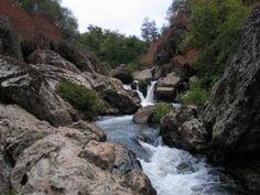 Visit the Hidden Falls near Folsom, CA.
