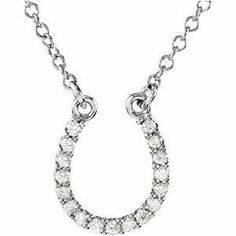 "Premium Platinum .08 Cttw Si1,gh 16"" Diamond Horseshoe Necklace Enlightened Expressions. $431.17. Polished. 01.00 MM (01.00 - 01.15) Full Cut, SI1 ROUND FULL CUT G-H GENUINE DIAMOND. 1.5397 DWT ( 2.39 grams). Platinum. .08 CTTW SI1,GH 16"""