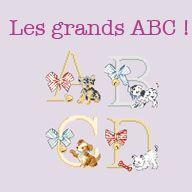 Lin : Grand pochon « Monceau » à broder au point de croix - Les brodeuses parisiennes