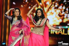 Sri Devi And Madhuri Dixit At Jhalak Dikhhla Jaa Grand Finale Excellent Stills - Latest Photos~Cinema Details & Entertainment - Daily Updated