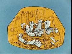 Spacecraft seating diagram via Stephanie Culakowa.