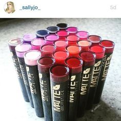 Watch out for Sally Jo's review on our fave new matte lipsticks! What are your favourite colours?  @_sallyjo_ www.youtube.com/c/SallyJo #nzlagirlcosmetics #mattelipstick