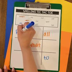 😱 It's starting...the end of the year struggle to keep their attention. 👀 No problem...Engage them with spelling practice games like tic-tac-toe...and over 60 other fun activities from our Editable Spelling Activities for ANY List of Words! 💙 The best part? You just type the list once and hit print! Spelling Practice, Spelling Lists, Spelling Activities, Vocabulary Activities, Spelling Words, Fun Activities, Silly Sentences