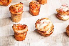 Πίτσα cupcake και πίτσα muffin