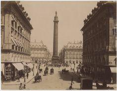 X. France, Paris, la Place et la Colonne Vendôme    #Europe #Paris