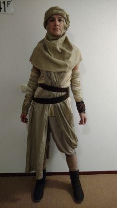 My Rey costume Star Wars The Force Awakens