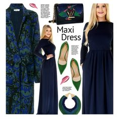 Maxi Dress by beebeely-look on Polyvore featuring Circus Hotel, StreetStyle, dresses, maxidress and DesirVale