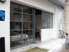 Online Home Decorating Software Key: 5366108955 Facade Design, House Design, Cafe Interior, Interior Design, Cafe Door, Shop Facade, Cafe Concept, Rustic Loft, Minimalist Room