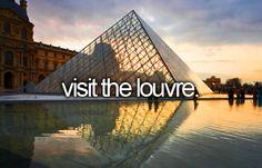 Visit the Louvre Museum in Paris #bucketlist #travel