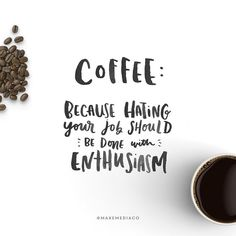 Lol. I really do love my job but I thought this was hilarious.  #coffee #type #typelove #watercolor #typespire #typedesign #tyopgraphy #thedailytype #thedesigntip #handdrawntype #lettering #maydesigns #goodtype #ligaturecollective #letteringco #designinspiration #slowroastedco #makemediaco #handmadefont #brushlettering #handlettering #instagood #calligritype #font #letteringpractice #brushfont #brushlettering by makemediaco
