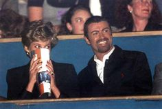 Diana and George Michael