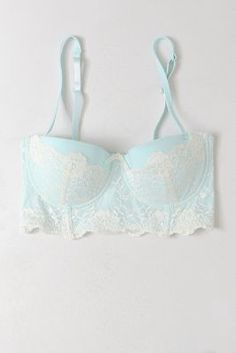 Anthropologie Aurore Lacy Bra. I like a combination of cute and sexy.