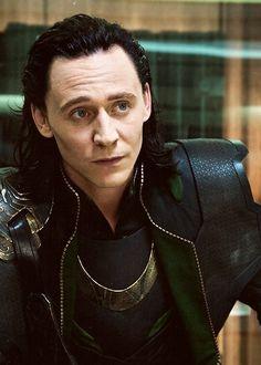 Tom Hiddleston   #Loki in Joss Whedon's The #Avengers (USA, 2012) #Marvel #TomHiddleston and his perfect cheek bones