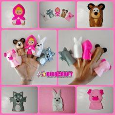 Biba Craft Collection: Finger Puppets/Boneka Jari