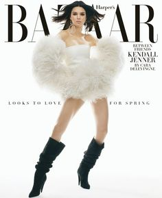 6160448ec5 Kendall Jenner Interviewed by Cara Delevingne - Kendall Jenner Cover Story  Calvin Klein