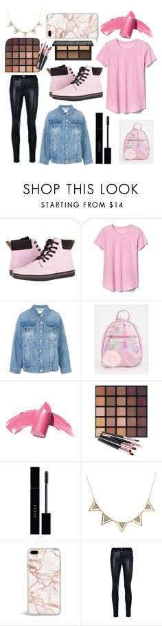"""#15"" by pintereszter ❤ liked on Polyvore featuring Dr. Martens, Gap, Steve J & Yoni P, Gucci and Versace"