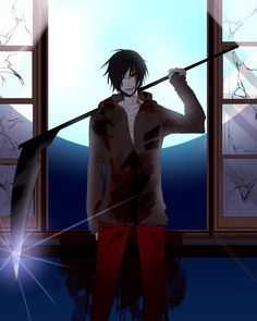 A place to express all your otaku thoughts about anime and manga Evil Anime, Anime Demon, Dark Anime Guys, Anime Love, Otaku, Death Aesthetic, Alice Mare, Mad Father, Japanese Horror