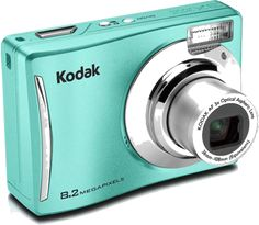k o d a k - my dad worked for them for years, they were a great company and I loved my cameras, but I didn't have this one!