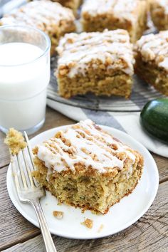 Brown Butter Zucchini Coffee Cake Recipe on twopeasandtheirpod.com Trying to use…