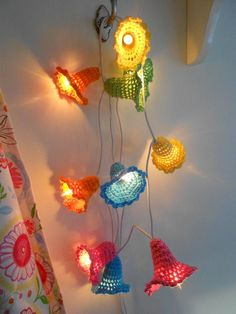 Crochet lightchain