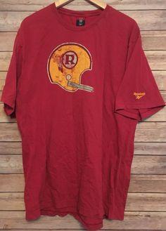 Vintage Washington Redskins Tshirt NFL Reebok Size Large Gridiron Classic  810104032