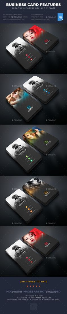 Photography Business Card  — PSD Template #green #white • Download ? https://graphicriver.net/item/photography-business-card/18369344?ref=pxcr
